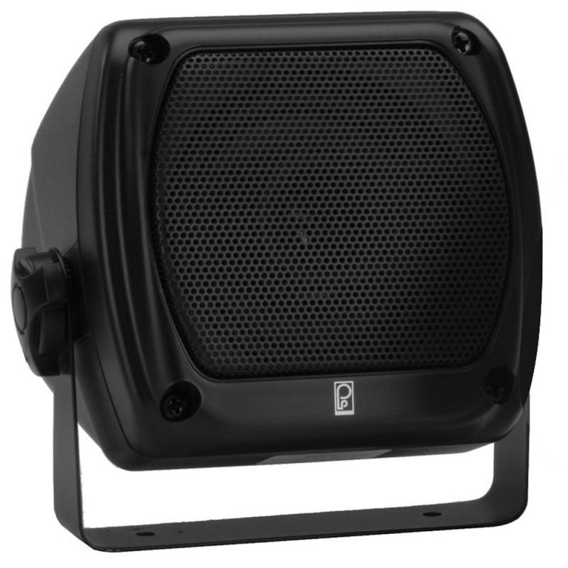 Poly-Planar Subcompact Box Speaker - -Pair- Black