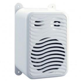 Poly-Planar Gunwale Mount Speakers - -Pair- White