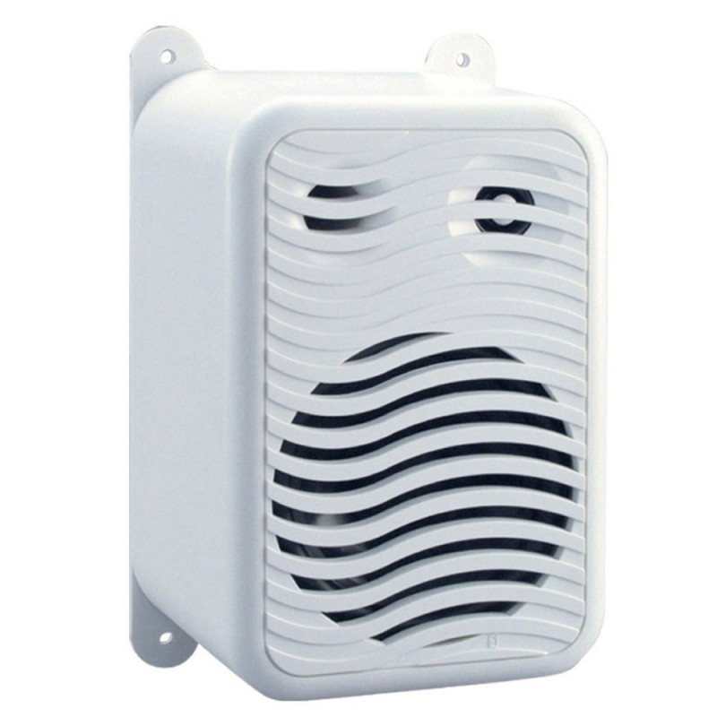 Poly-Planar Gunwale Mount Speakers - -Pair- White