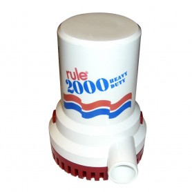 Rule 2000 G-P-H- Non-Automatic Bilge Pump - 24V