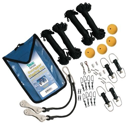 TACO Premium Double Rigging Kit f-2-Rigs on 2-Poles