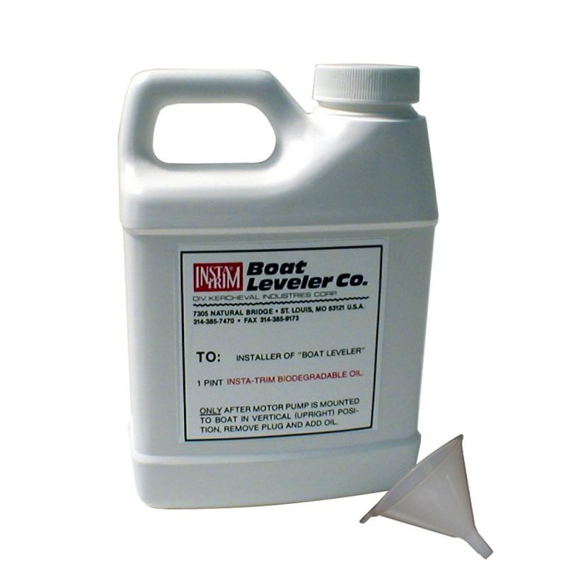 Boat Leveler Oil - Funnel Kit