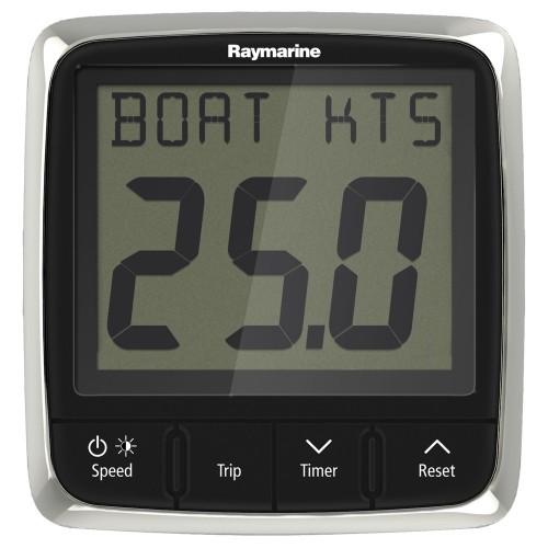 Raymarine i50 Speed Display System w-Nylon Thru-Hull Transducer