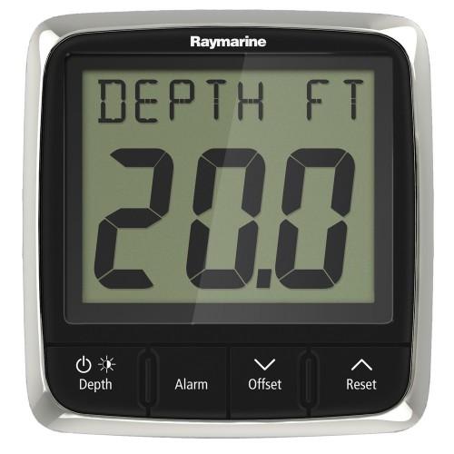 Raymarine i50 Depth Display System w-Thru-Hull Transducer