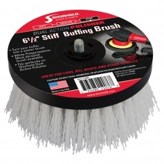 Shurhold 6-1-2- Stiff Brush f-Dual Action Polisher