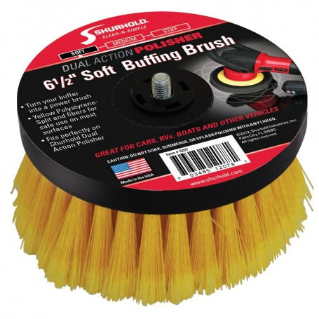 Shurhold 6-1-2- Soft Brush f-Dual Action Polisher
