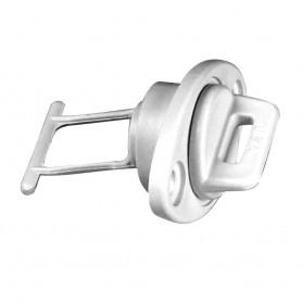 Beckson 1- Drain Plug Screw Type w-Gasket - White
