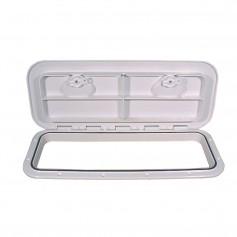 Beckson 10x24- Flush Hatch Horizontal or Vertical - White