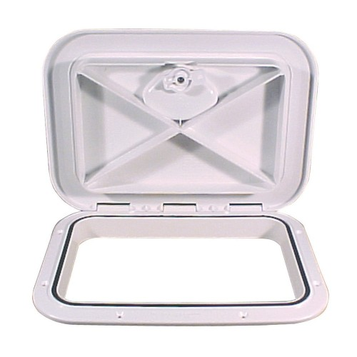 Beckson 11x15- Flush Hatch Vertical or Horizontal - White