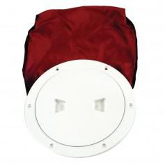 Beckson 6- Stow-Away Deck Plate - White w-12- Bag