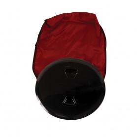 Beckson 5- Stow-Away Deck Plate - Black w-12- Bag