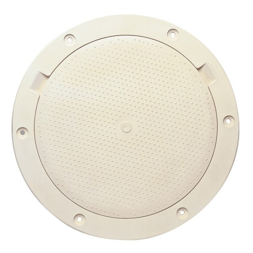 Beckson 8- Non-Skid Pry-Out Deck Plate - Beige