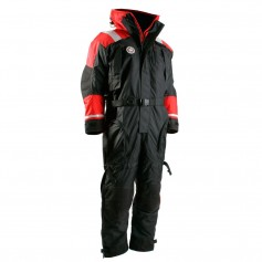 First Watch Anti-Exposure Suit - Black-Red - X-Large