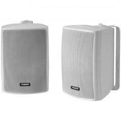 FUSION 4- Compact Marine Box Speakers - -Pair- White