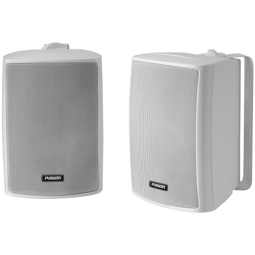 FUSION 4- Compact Marine Box Speaker - -Pair- White