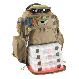 Wild River NOMAD Lighted Tackle Backpack w-4 PT3600 Trays