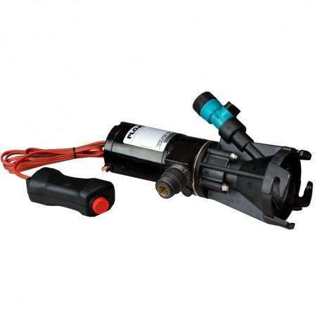 FloJet Portable Self-Priming RV Macerator Waste Pump Kit - 12V