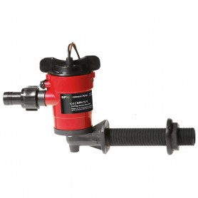 Johnson Pump Cartridge Aerator 1000 GPH 90 Degree Intake - 12V