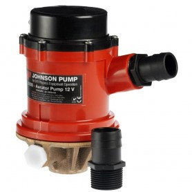 Johnson Pump Pro Series 1600 GPH Tournament Livewell-Baitwell Pump - 12V