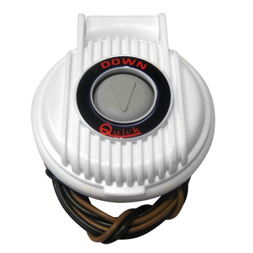 Quick 900-DW Anchor Lowering Foot Switch - White