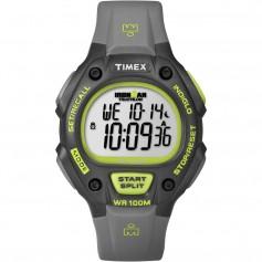 Timex Ironman 30-Lap Full-Size - Grey-Neon Green