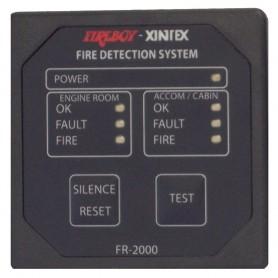 Xintex 2 Zone Fire Detection - Alarm Panel