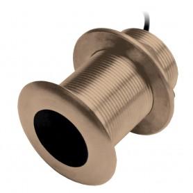 Garmin B75M Bronze 12 Degree Thru-Hull Transducer - 600W- 8-Pin