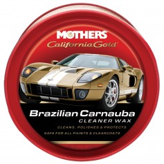 Mothers California Gold Brazilian Carnauba Cleaner Wax Paste - 12oz