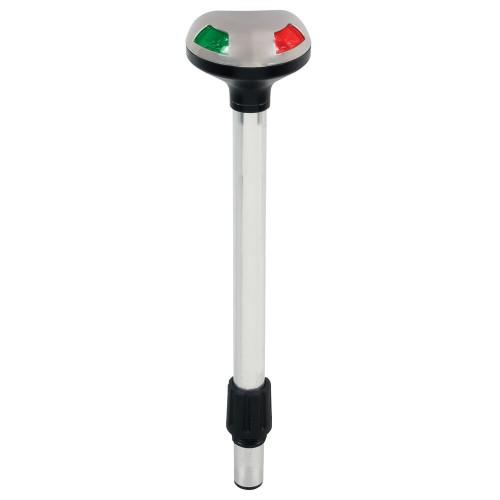 Perko Stealth Series LED Bi-Color 12- Pole Light - Small Threaded Collar - 2 Mile