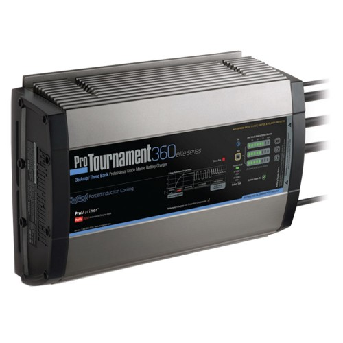 ProMariner ProTournament 360 elite Triple Charger - 36 Amp- 3 Bank