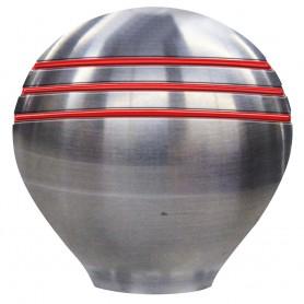 Schmitt Ongaro Throttle Knob - 1-- - Red Grooves
