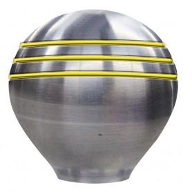 Schmitt Ongaro Throttle Knob - 1-- - Gold Grooves