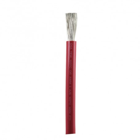 Ancor Red 1-0 AWG Battery Cable - 100-