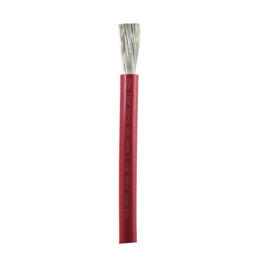 Ancor Red 1-0 AWG Battery Cable - Sold By The Foot