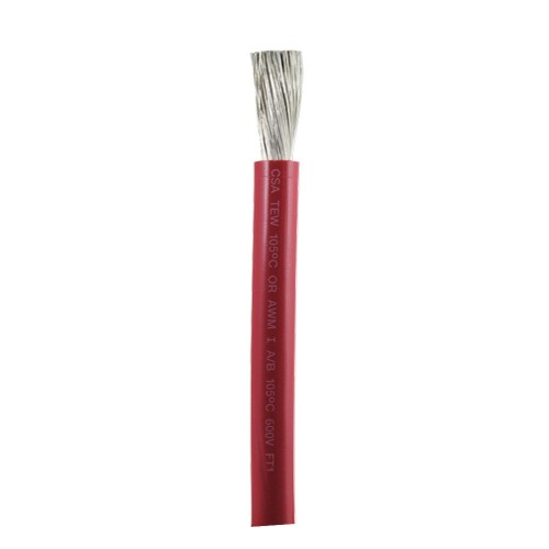 Ancor Red 2-0 AWG Battery Cable - 100-