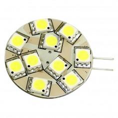 Lunasea G4 12 LED Side Pin Light Bulb - 12VAC or 10-30VDC 2W-140 Lumens - Warm White