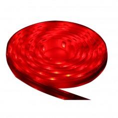 Lunasea Flexible Strip LED - 5M w-Connector - Red - 12V