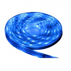Lunasea Waterproof IP68 LED Strip Lights - Blue - 2M