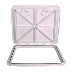 Beckson 18x21- Flush Hatch Horizontal or Vertical - White