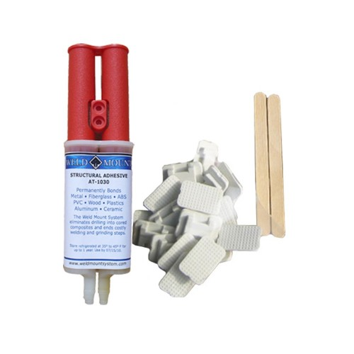 Weld Mount Retail Wire Tie Kit w-AT-8040 Adhesive