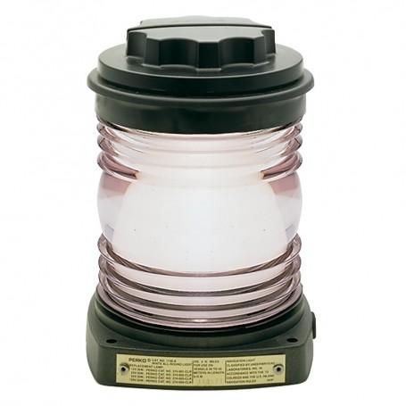 Perko All-Round Light - Black Plastic- White Lens