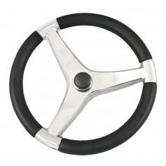 Schmitt Ongaro Evo Pro 316 Cast Stainless Steel Steering Wheel - 13-5-Diameter