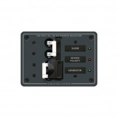Blue Sea 8032 AC Toggle Source Selector 120v AC 30A -White Switches-