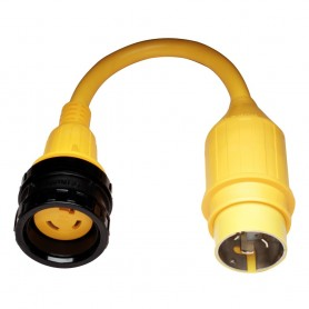 Marinco 110A Pigtail Adapter - 30A Female to 50A Male