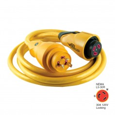 Marinco CS30-12 EEL 30A 125V Shore Power Cordset - 12- - Yellow