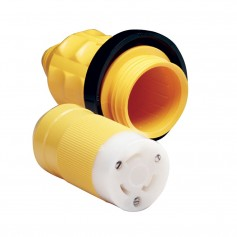 Marinco 305CRCN-VPK 30A Female Connector w-Cover - Rings