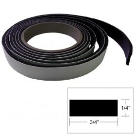 TACO Hatch Tape - 8-L x 1-4-H x -W - Black