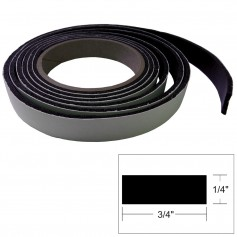 TACO Hatch Tape - 8-L x -H x -W - Black