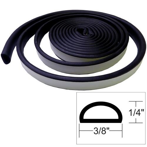 TACO Weather Seal - 10-L x -H x -W - Black