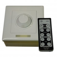 Lunasea Single Color Wall Mount Dimmer w-Controller